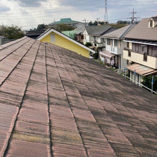 下野市I様邸,屋根カバー工事